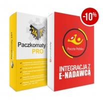 Zestaw Paczkomaty + Enadawca Poczta-Polska